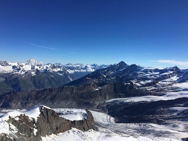 Zwei Zermatter 4000er Pollux und Castor